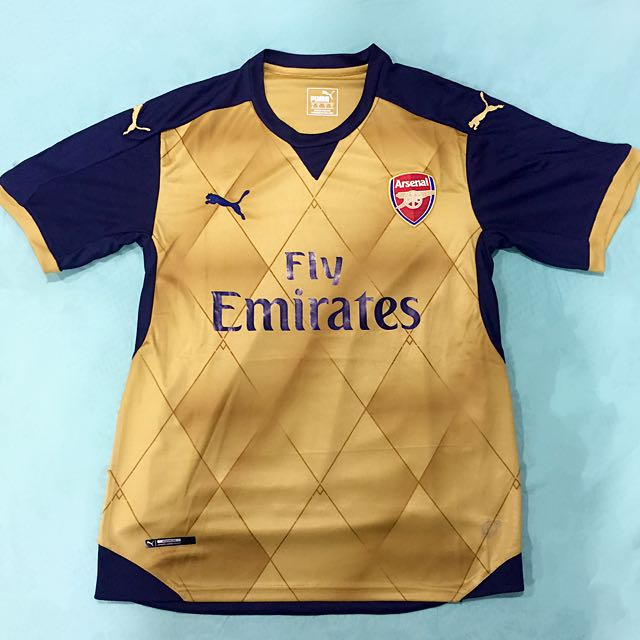 sale retailer fa8cf 18d05 [BRAND NEW] Arsenal Away Jersey (Authentic)