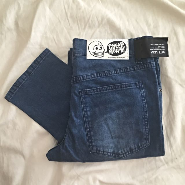 NEW Cheap Monday 'Tight Very Nice' Jeans W31 L34