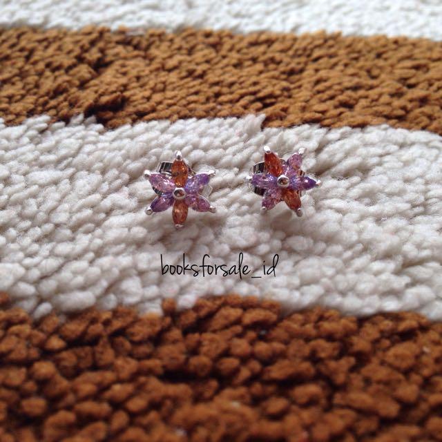 Colourful Star Earring