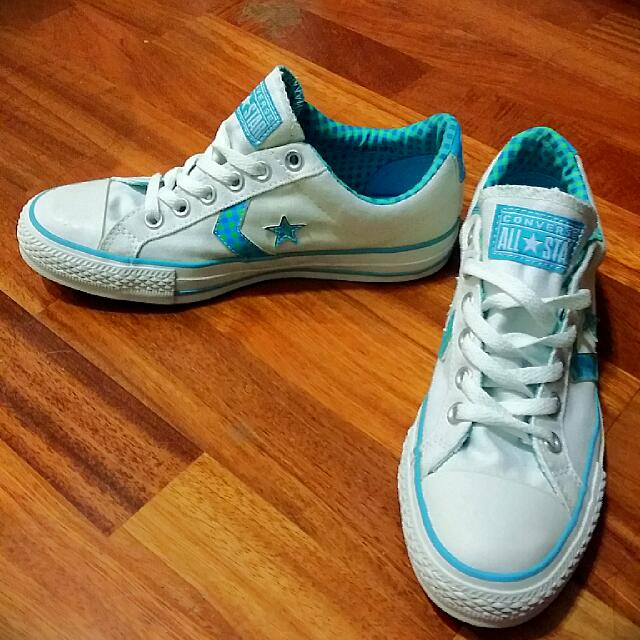 Converse Star Player EV Ox White Blue