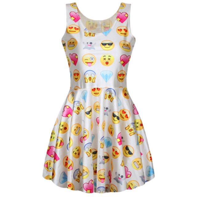 🆕Emoji Dress