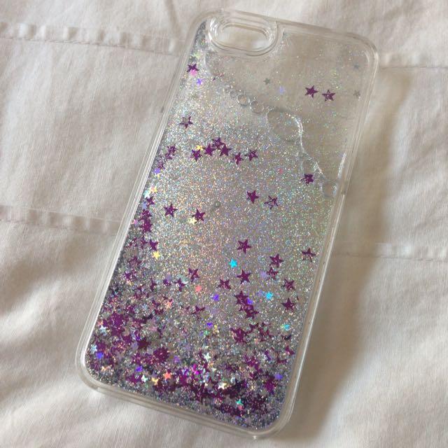 IPhone 6 Glitter Waterfall Hard case