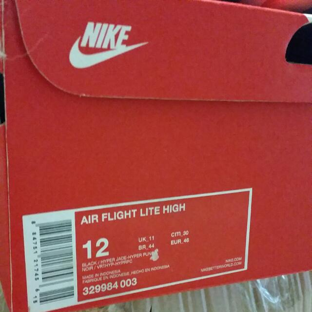 NIKE AIR FLIGHT LITE HIGH