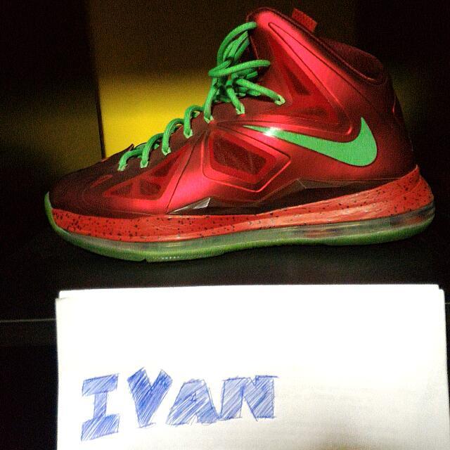 Nike Lebron X 10 Christmas 1d985cfd019b