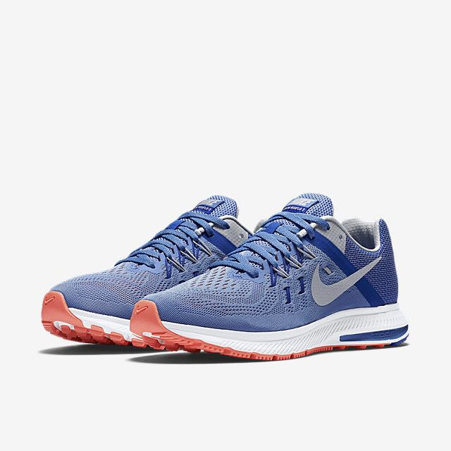 Atomic Pink Nike Air Zoom Winflo 2 Nike Zoom Winflo 2 (Women) - Chalk Blue/Racer Blue/Atomic Pink ...