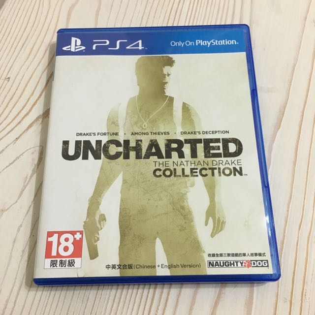 PS4秘境探險 奈森‧德瑞克合輯