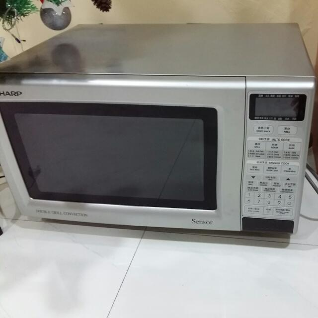 Sharp Double Grill Convection Microwave Oven R888f Home Liances On Carou