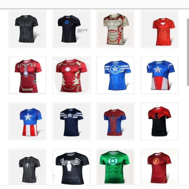 Superhero Armour T-shirts