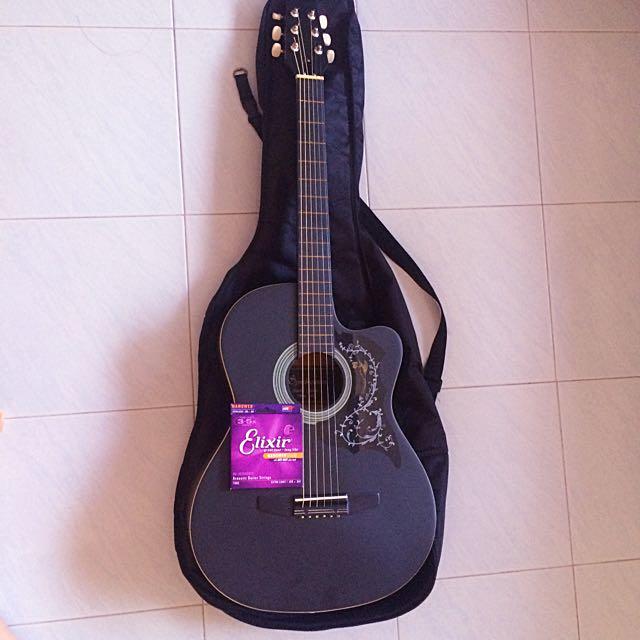 Synchronium Acoustic Guitar (price negotiable), Music
