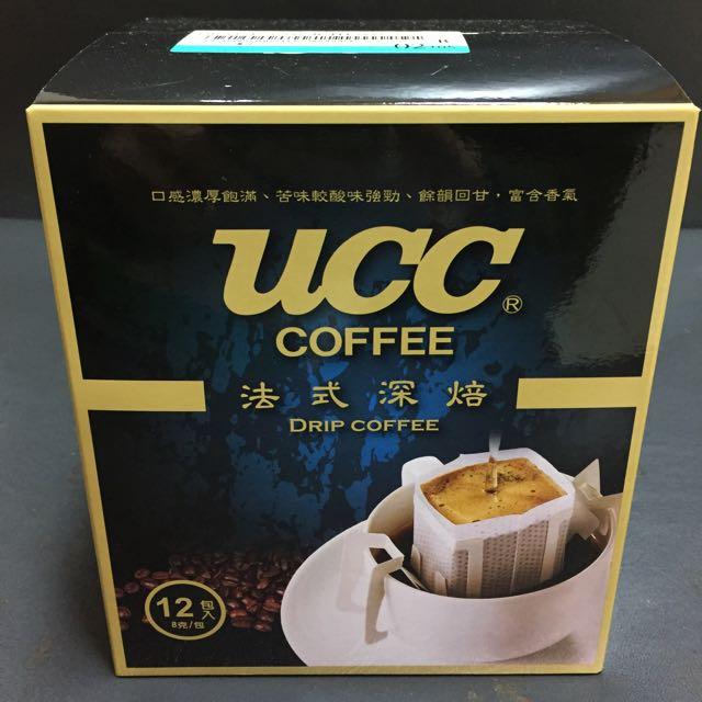 UCC 法式深培濾掛咖啡