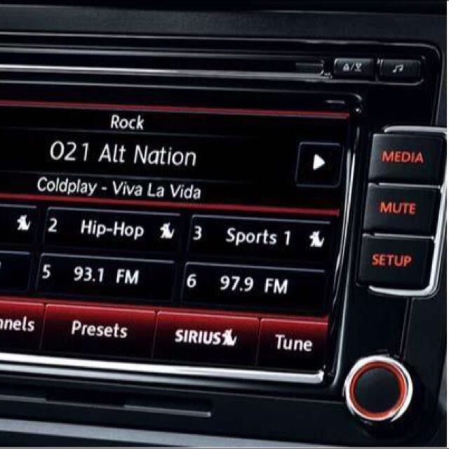 Volkswagen RCD510 Audio Head Unit Original, Cars on Carousell