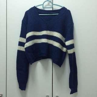 Brand New Crop Sweater