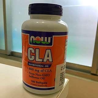 NOW 紅花籽油/共軛亞麻油酸 CLA 800mg /180顆