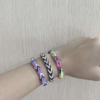 Fishtail Loom Bands