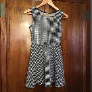 Primark Skater Dress Classic Polka Dot Design