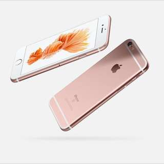 iPhone 6s Rose Gold 128gb - New