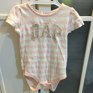 Baby Gap 短袖包屁衣