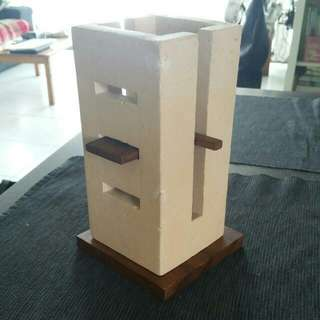 Meditteranean Style Candle Holder