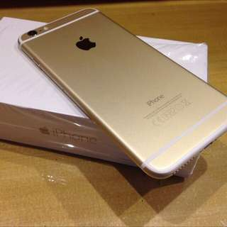 New Re contract iPhone 6s Gold