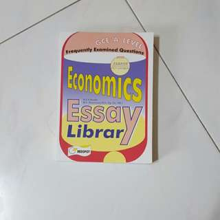 A Levels Econs Essay Guidebook