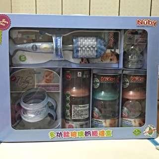Nuby多功能玻璃奶瓶禮盒