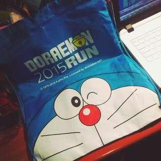 哆啦A夢2015路跑 束口袋