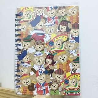 轉賣 全新 香港迪士尼購入 Duffy 筆記本 大本 絕版 彩色
