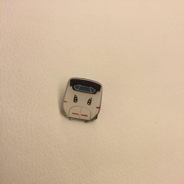 日本火車頭胸針(買就送)