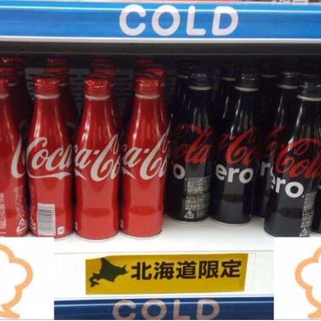 北海道限定 可口可樂