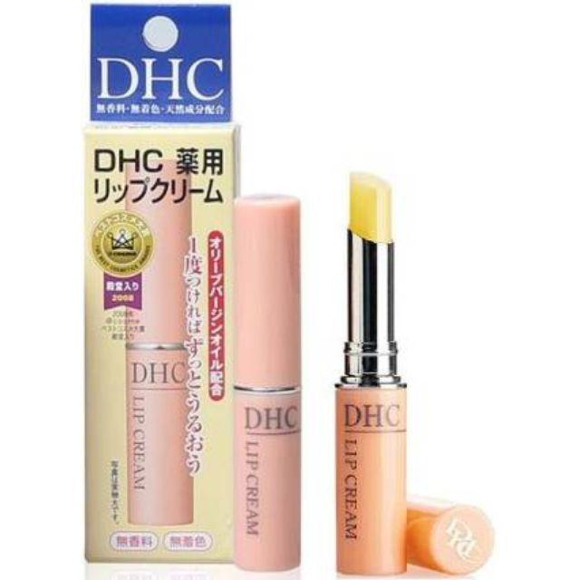 日本帶回 DHC純欖護唇膏 (1.5g) 冬天的救星
