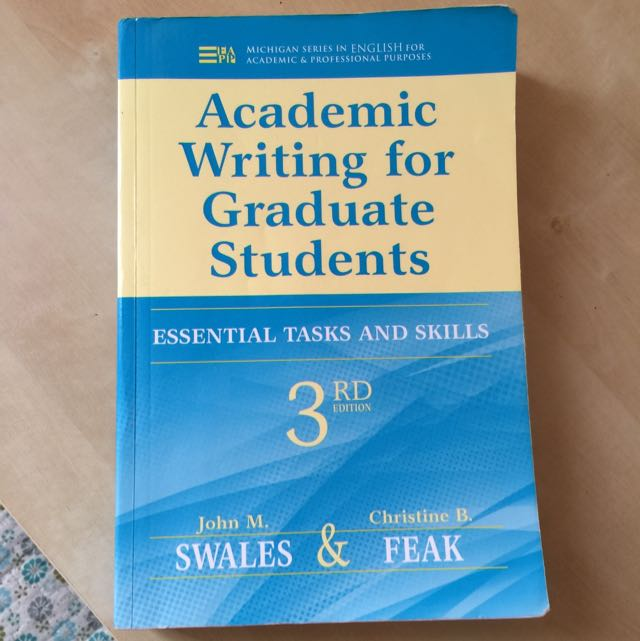 Es5001a Academic Writing For Graduate Students Books Stationery
