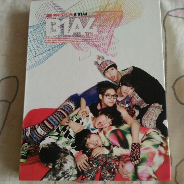 B1A4, 2nd Mini Album (It, B1A4)