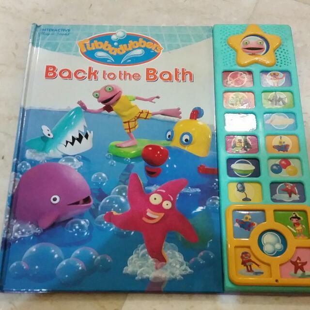 Big Hard Cover Rubbadubbers Back To The Bath Interactive Book, Books ...