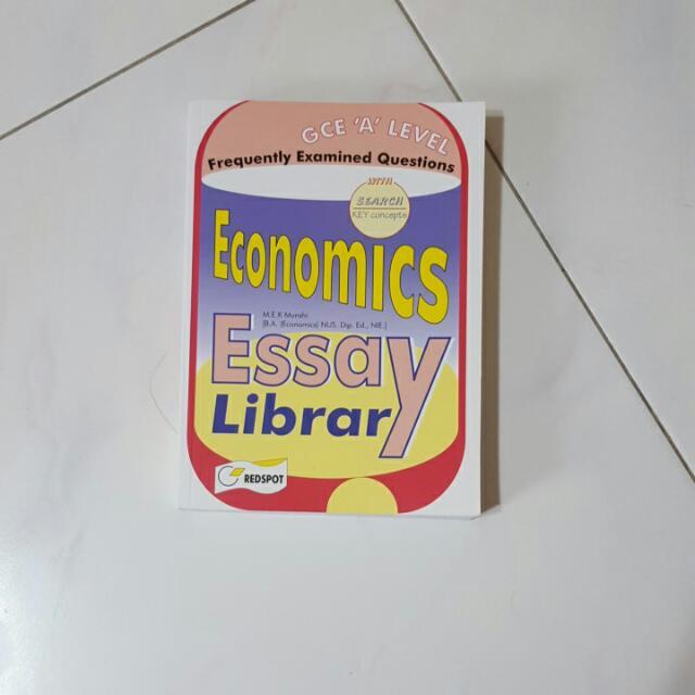 A Levels Econs Essay Guidebook