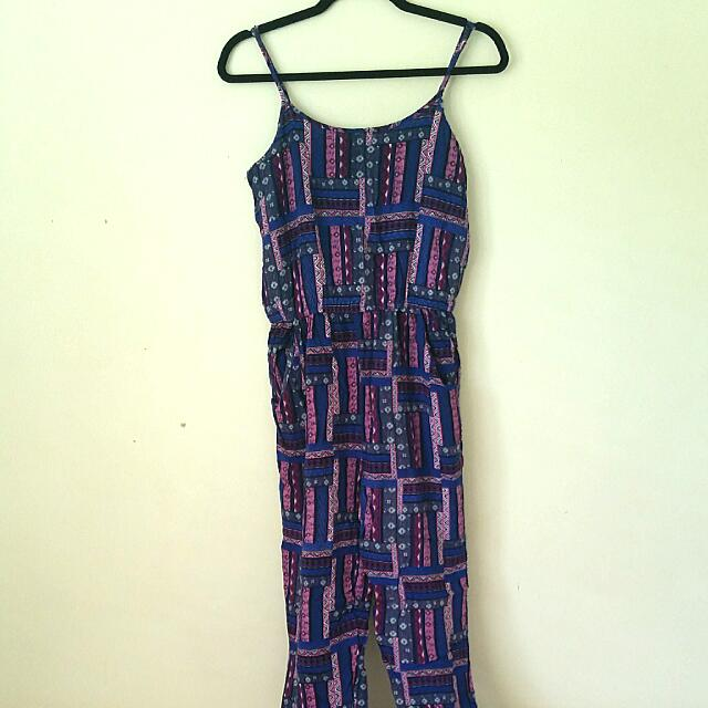 Factorie Purple Jumpsuit