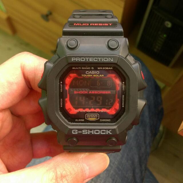 G SHOCK GXW-56 太陽能電波錶