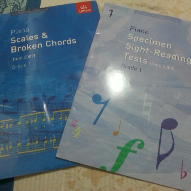 ABRSM Grade 1 Piano Scales & Broken Chords ABRSM Grade 1 Specimen Sight-reading Tests