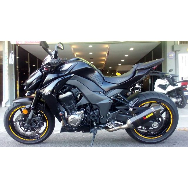 Kawasaki z1000 2014 akrapovic fullsystem new tire motorbikes on photo photo altavistaventures Gallery