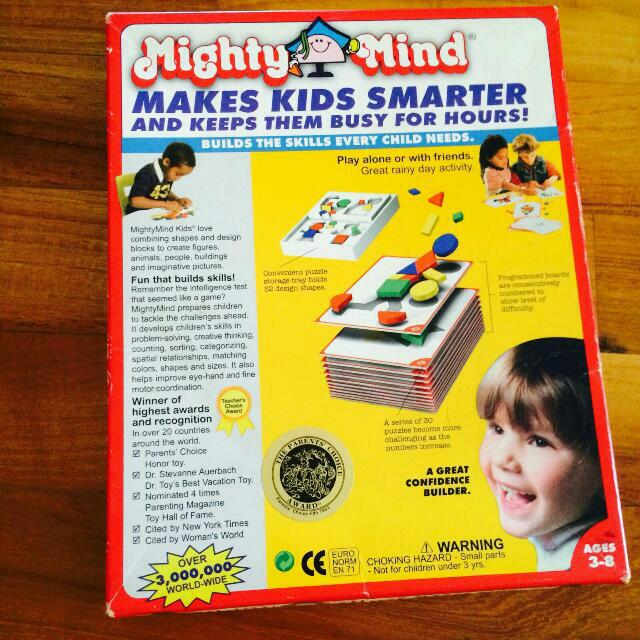 Must Grab! Mighty Minds Ages 3-8