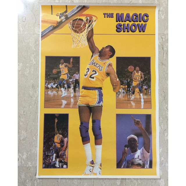 NBA posters  LARGE  80 X 55 cm , Vintage & Collectibles on