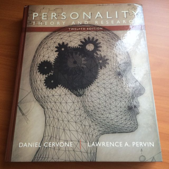 Personality: Theory And Research by Cervone & Pervin