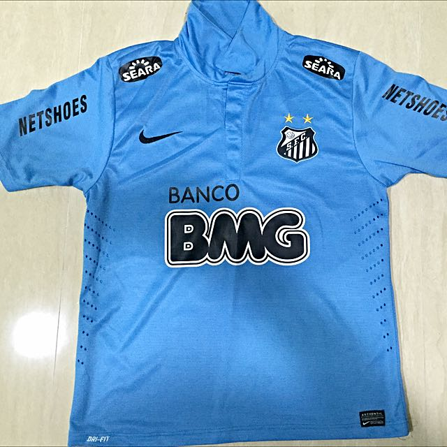 388b7e89c54 Brand New Santos FC Neymar Away Kit, Sports on Carousell