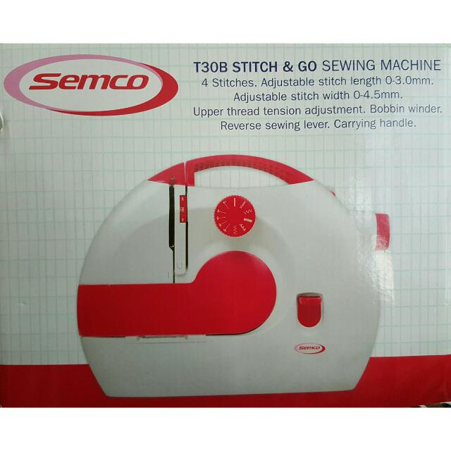 Semco T40B Stitch Go Sewing Machine Design Craft On Carousell Stunning Semco Sewing Machine