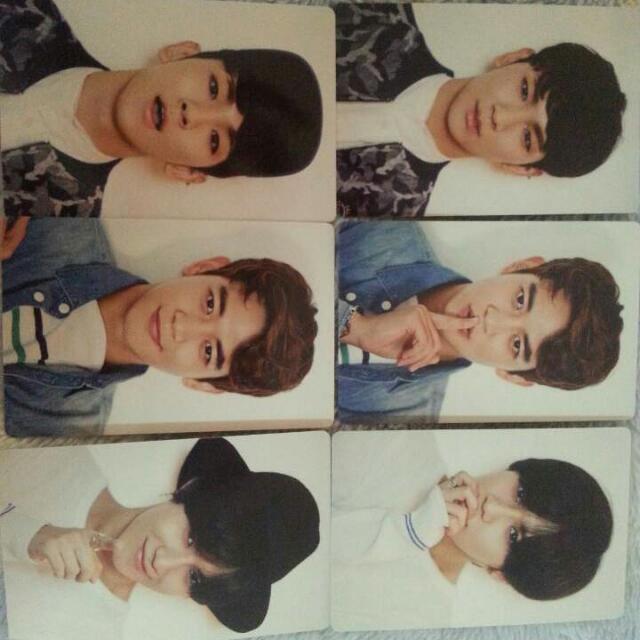 SHINee2015年曆小卡