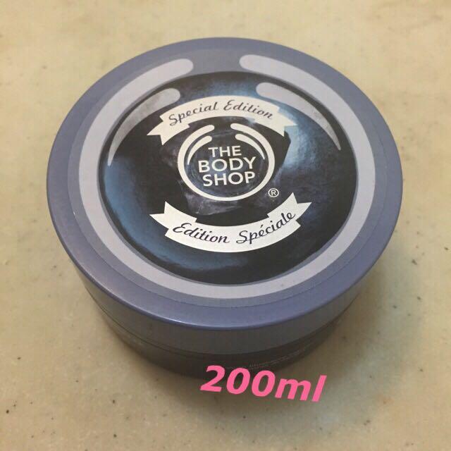 《全新-免運》the body shop藍莓賦活身體磨砂膏200ml(美體小舖)