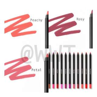 INSTOCK! BH COSMETICS Waterproof Lip Liner
