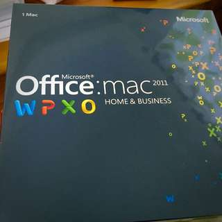 Microsoft Office (Home & Business) For Mac**