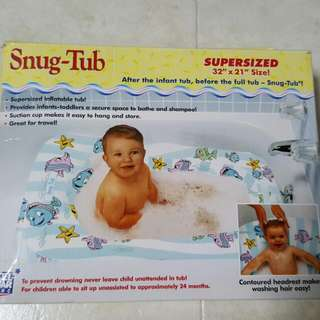 Preloved Inflatable Bath Tub