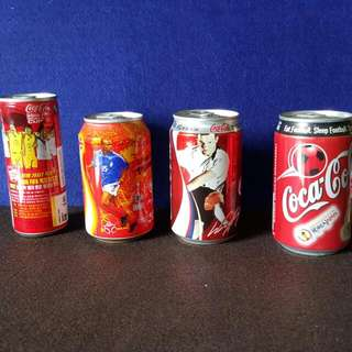 Coke Cans World Cup Soccer Series