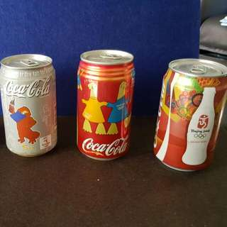 Coke Can . Olympic Series. Sydney 2000. Athens 2004 . Beijing 2008.